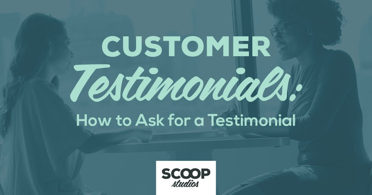 How to ask for a testimonial