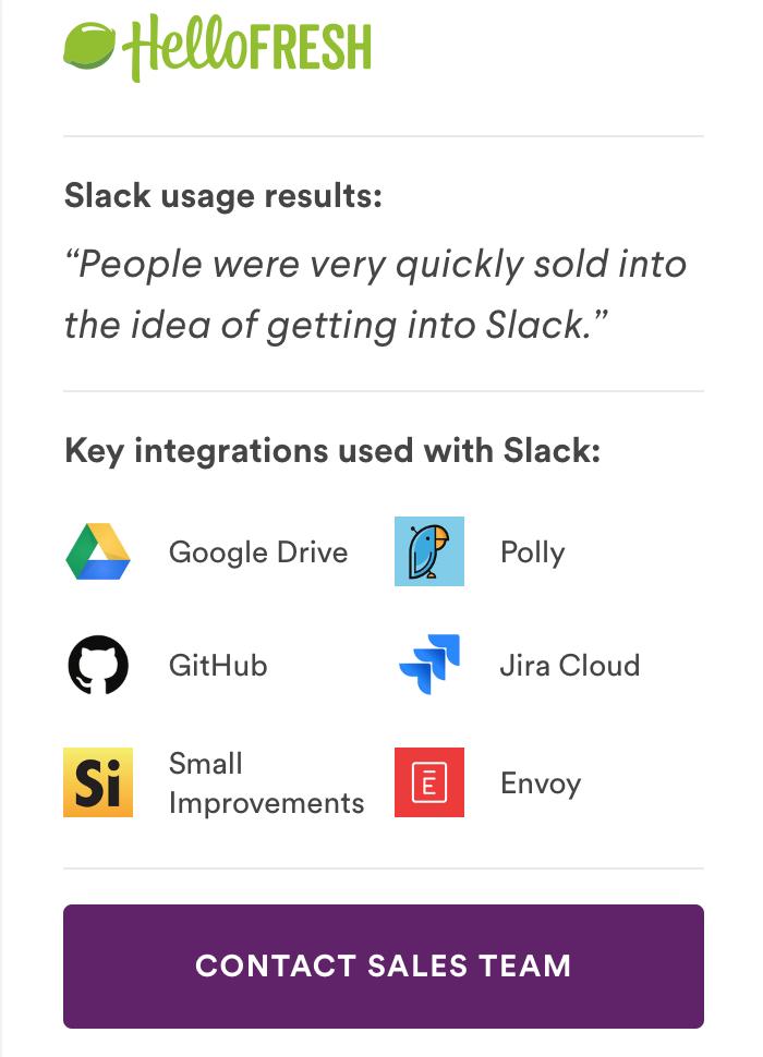 Slack Case Study