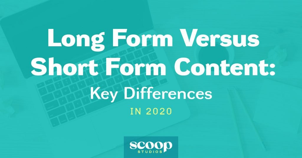long form versus short form content